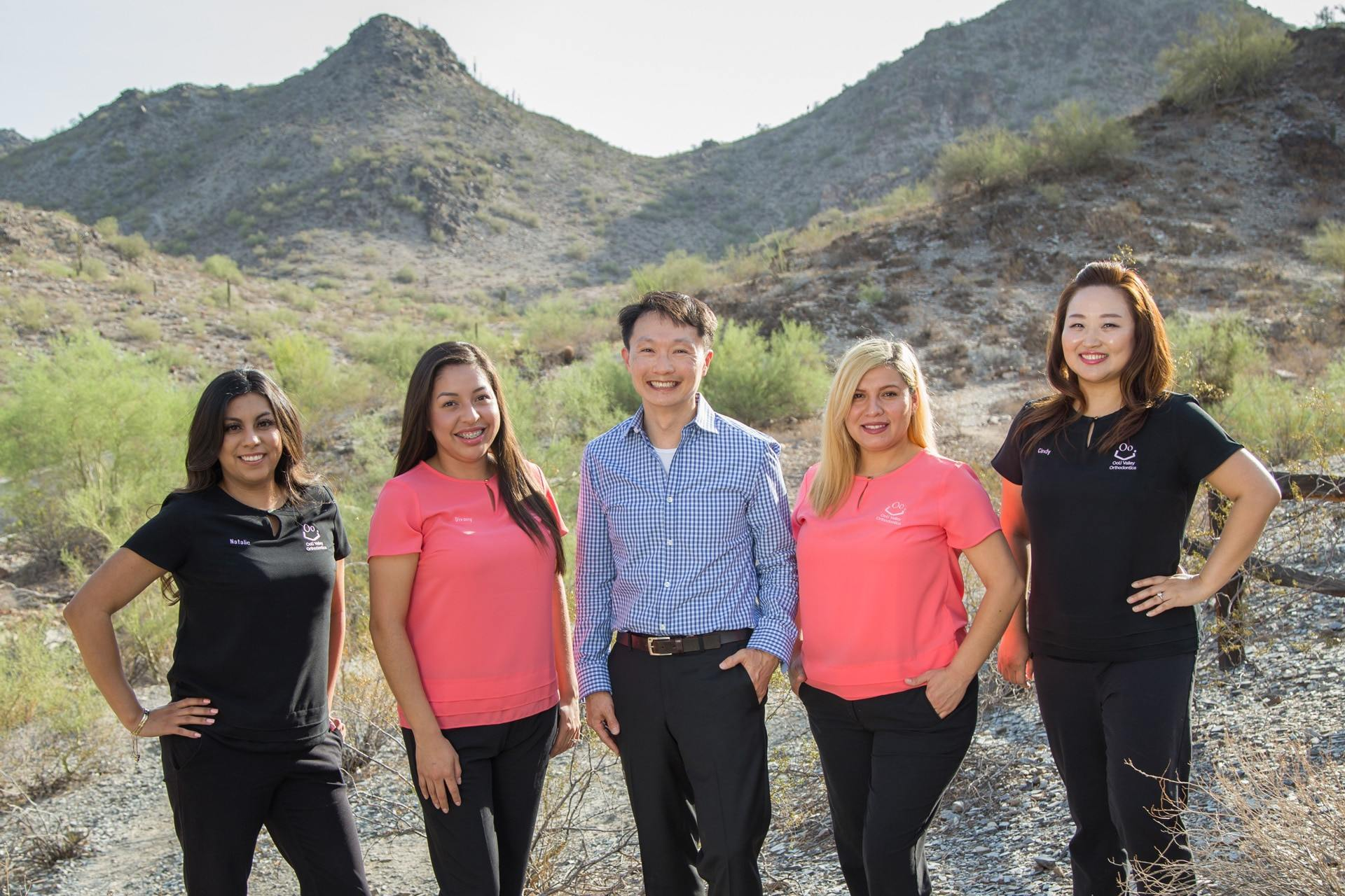 Phoenix orthodontist with staff